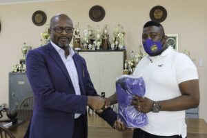 EnDH Foundation Student Mask Donation to Clarendon College